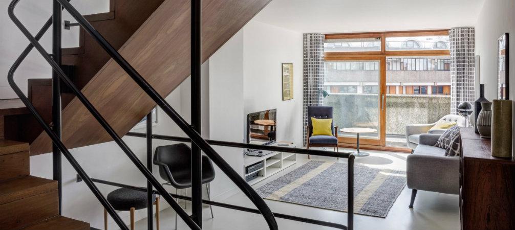 ALondon's Apartment transformed into a Barbican Estate