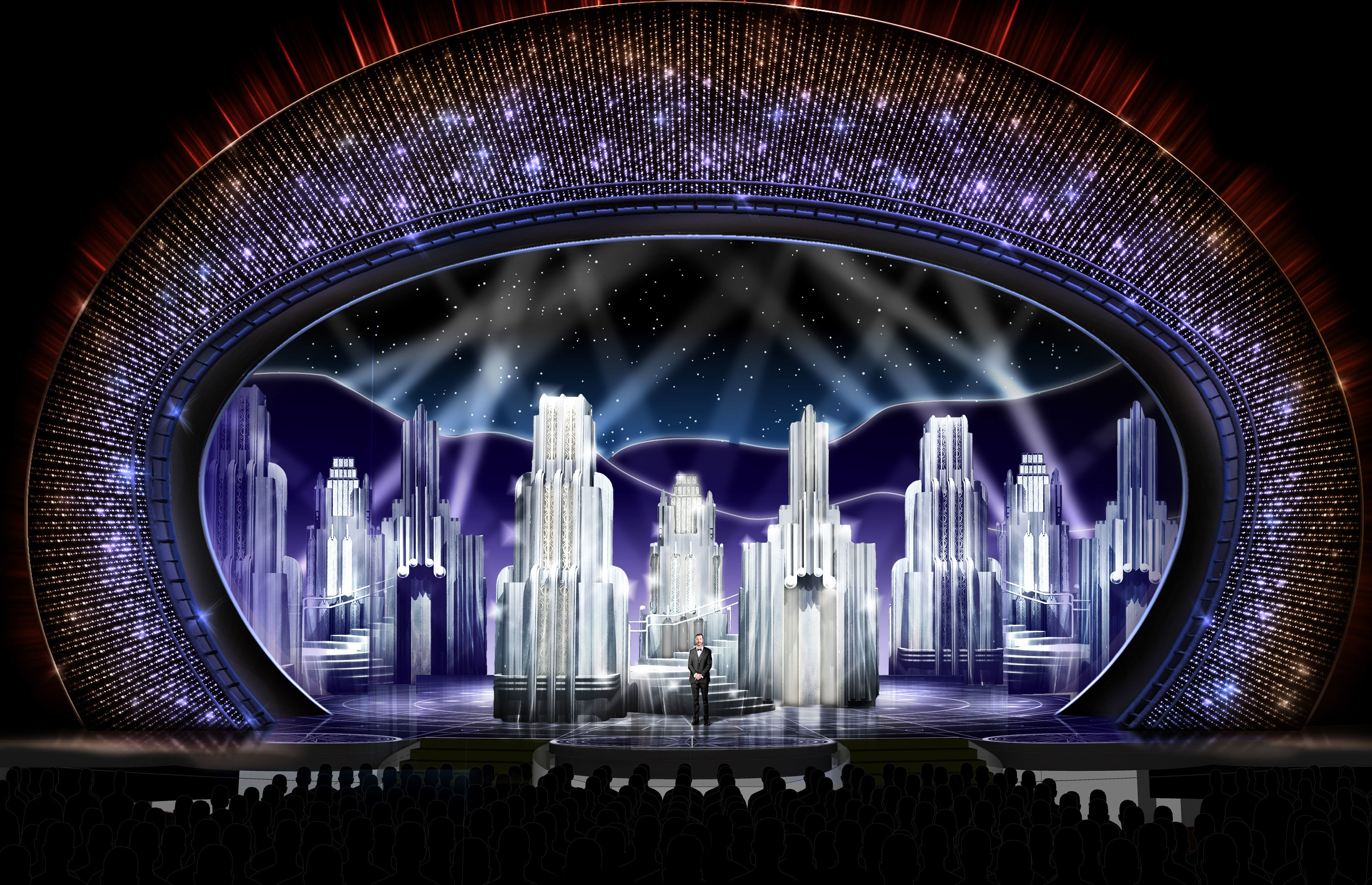 Find Out How The Stage For The Oscars 2017 Was Inspired By