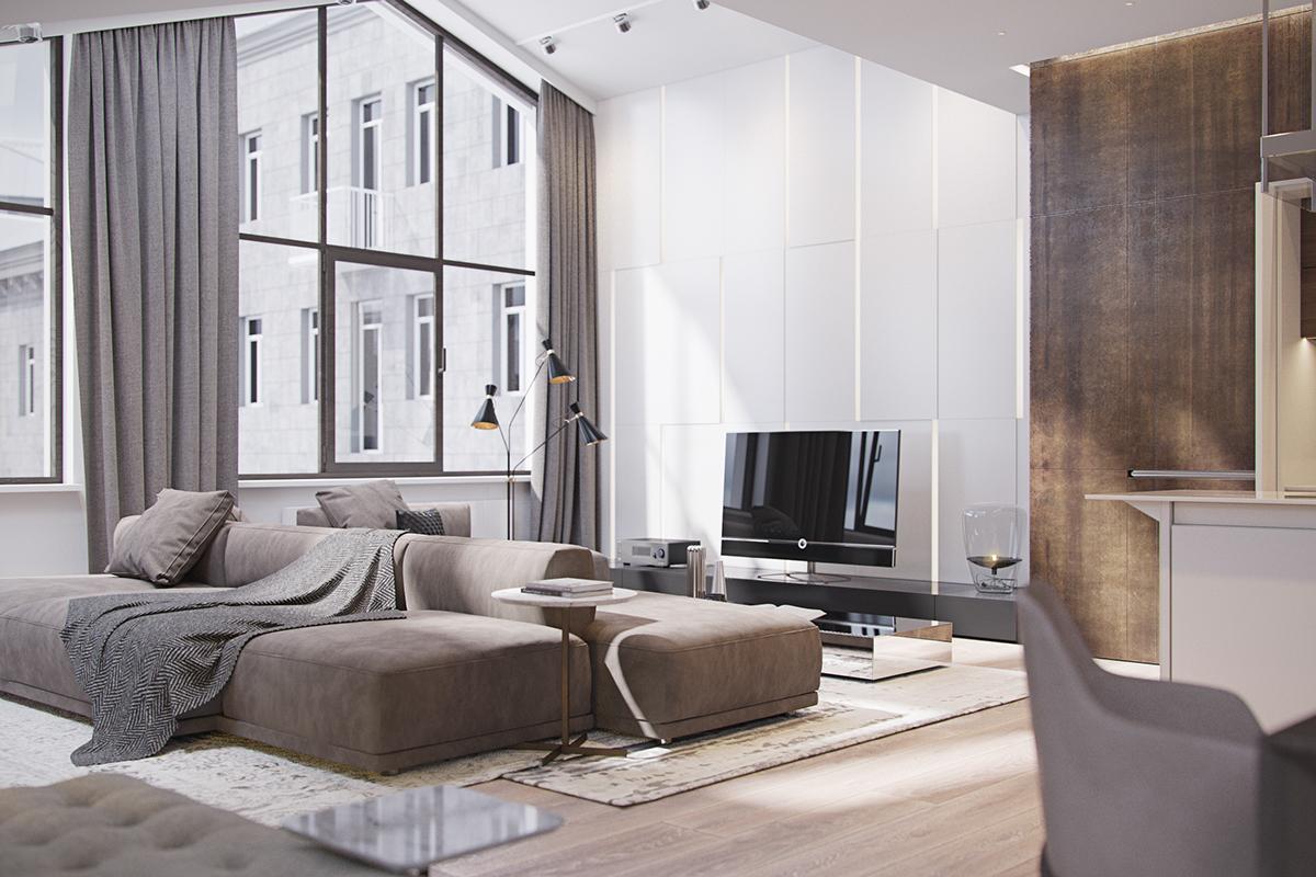 Inspiring Italian Apartment Brimming With Contemporary Lighting Designs  Contemporary Lighting Superb Italian Apartment Brimming With Contemporary