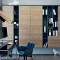 Moscow Modern Apartment with Copper Details and Mid-Century Lamps