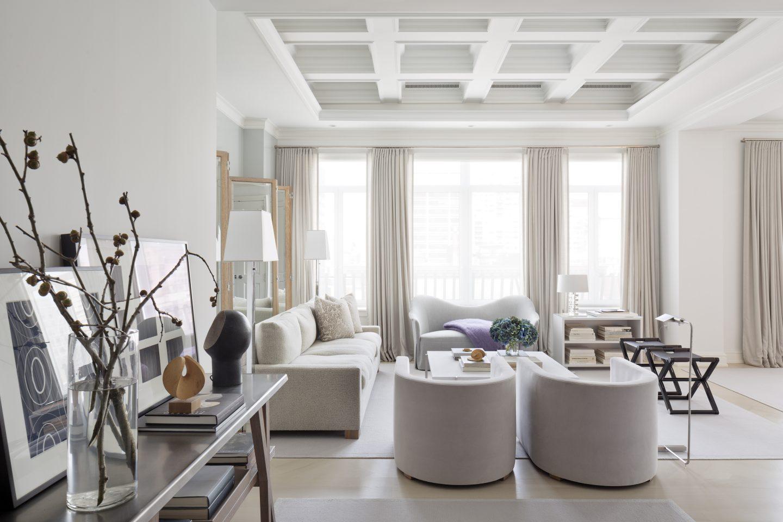 Luxury Living Room Furniture Room Of The Week Luxury Living Room In New York City