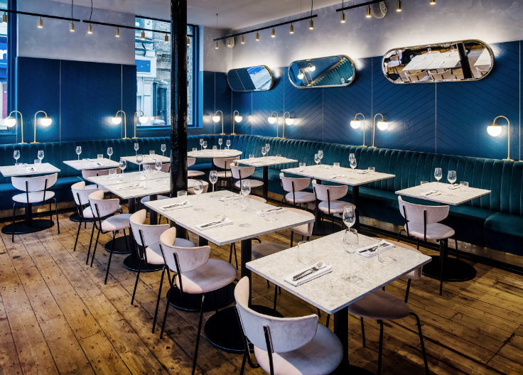 Take a look at Clerkenwell Grind's mid century interiors!