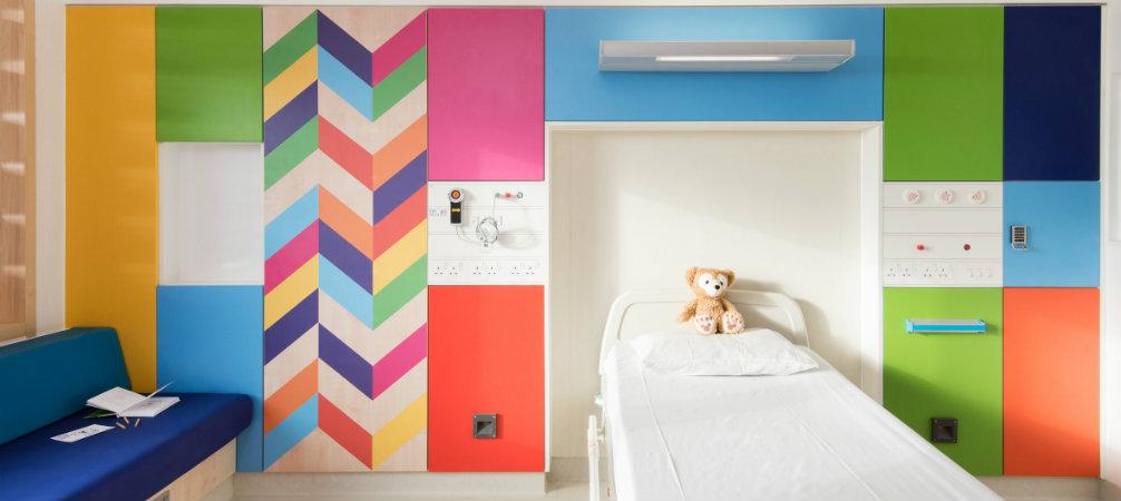 Morag Myerscough brighting up the Sheffield Children Hospital
