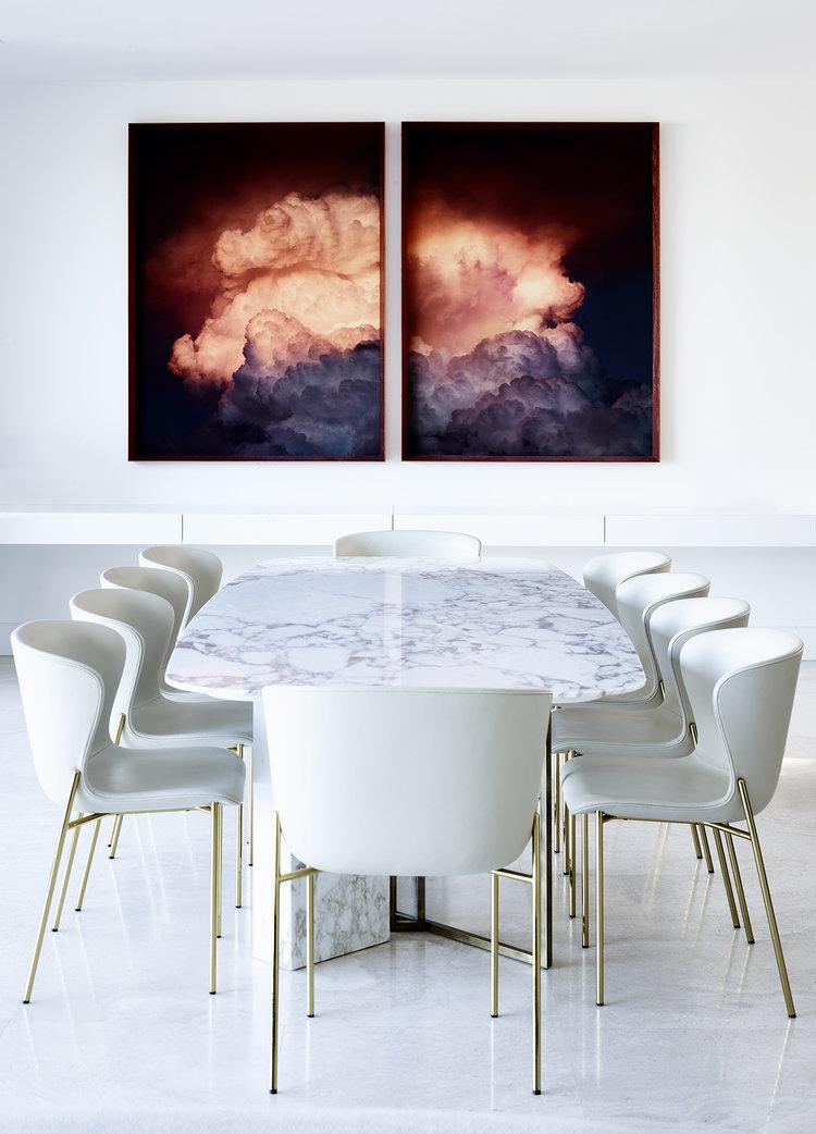 Mid-Century Brass Stars in Australian Modern Home by Simone Haag_2