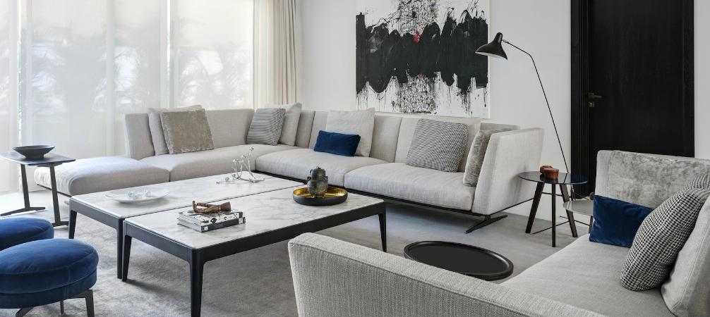 Minimalist Interior Design by VSHD Design with Mid-Century Lamps_8