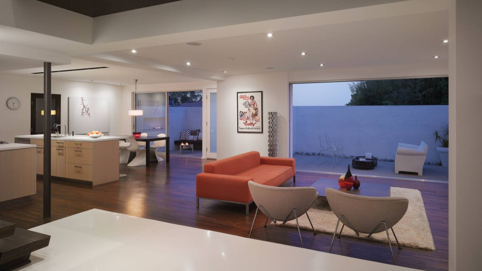 Room Of The Week Contemporary Living In Hollywood Hills Minimalist