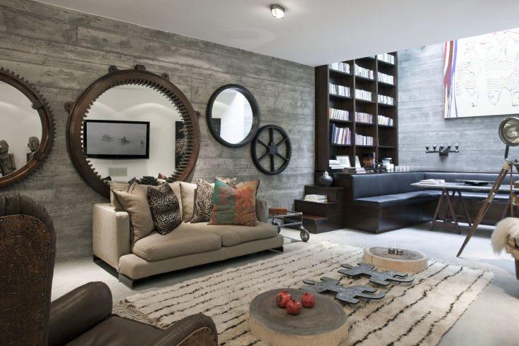 BEST INTERIOR DESIGN PROJECTS BY MISRA shalini misra BEST INTERIOR DESIGN PROJECTS BY SHALINI MISRA Shalini Misra Kensington Home W14 05  e1489483386568