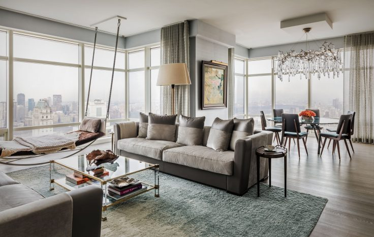 BEST INTERIOR DESIGN PROJECTS BY MISRA shalini misra BEST INTERIOR DESIGN PROJECTS BY SHALINI MISRA Shalini Misra New York Apartment 01  e1489483111105