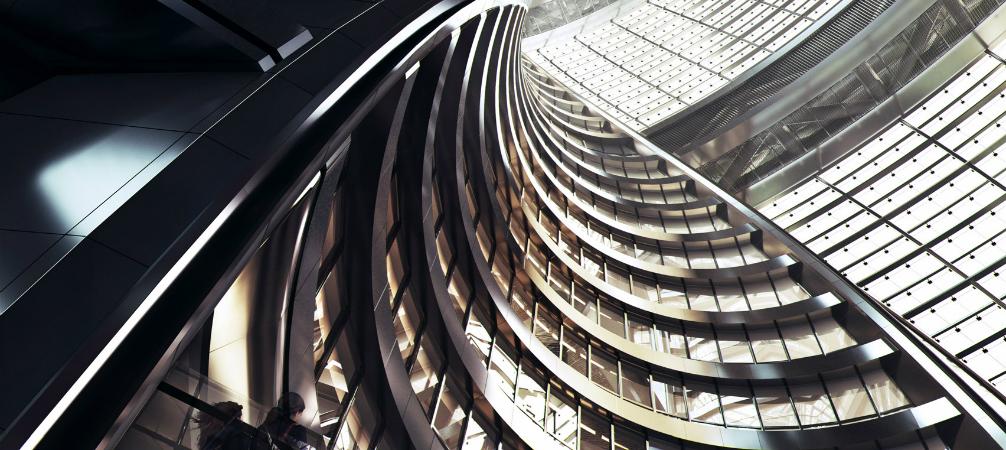 Zaha Hadid Architects Designed What Will Be The World's Largest Atrium