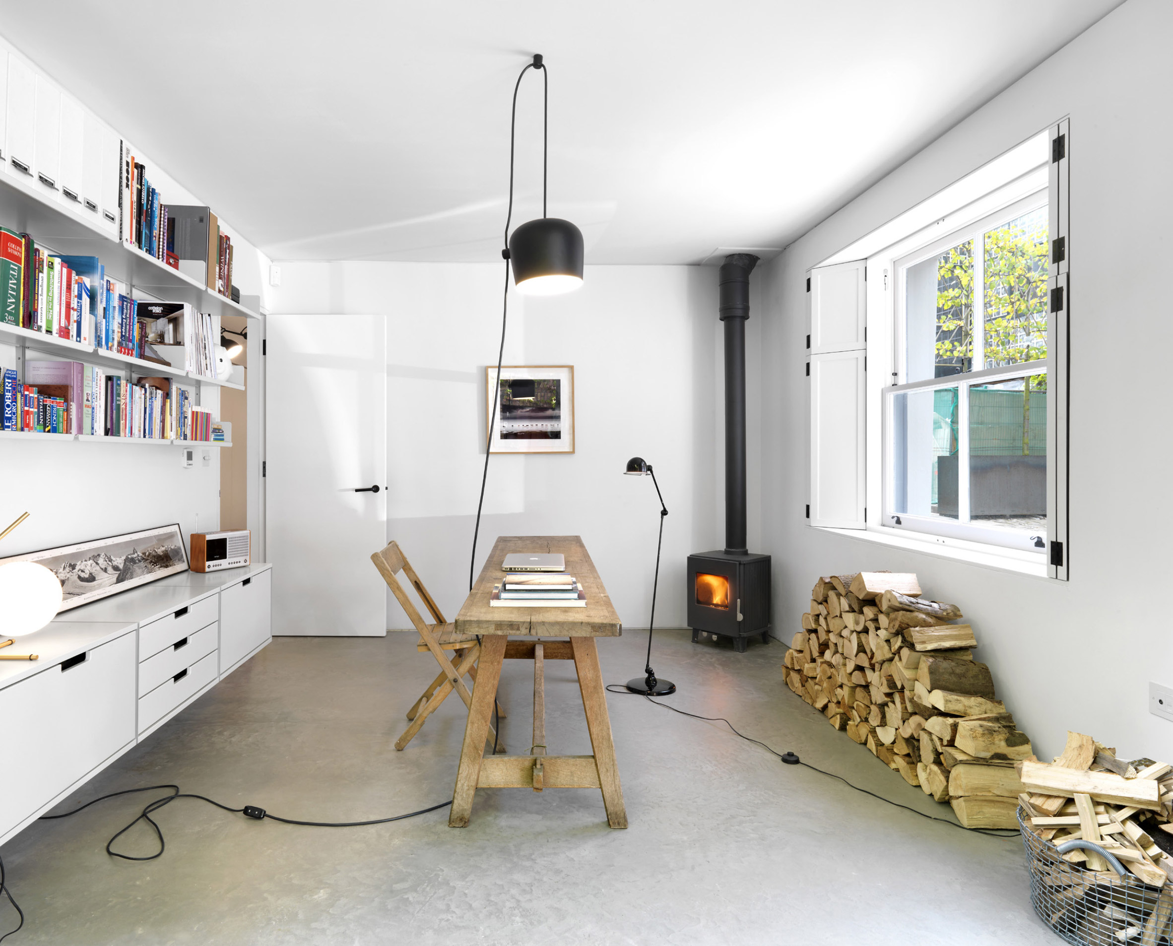 Take A Look At This Mews House With Monochrome Interiors