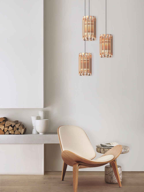 Creative lighting design ideas for a mid century summer decor for Creative living room lighting ideas