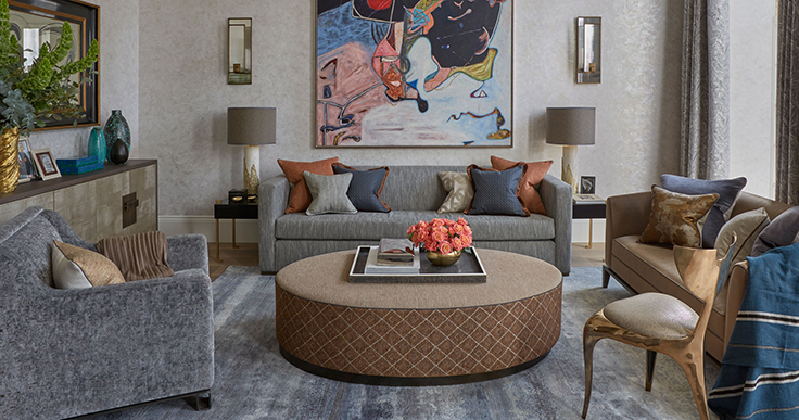 TOP 5 interior design projects by Helen Green Design