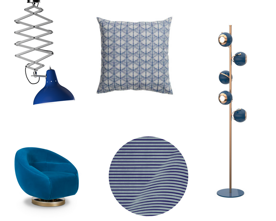 Mood Board- How Lapis Blue by Pantone Can be a Great Summer Color