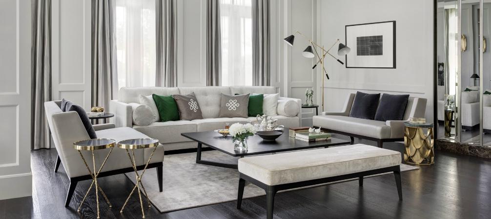 Room Of The Week  Neutral Luxury Living Room In Dubai