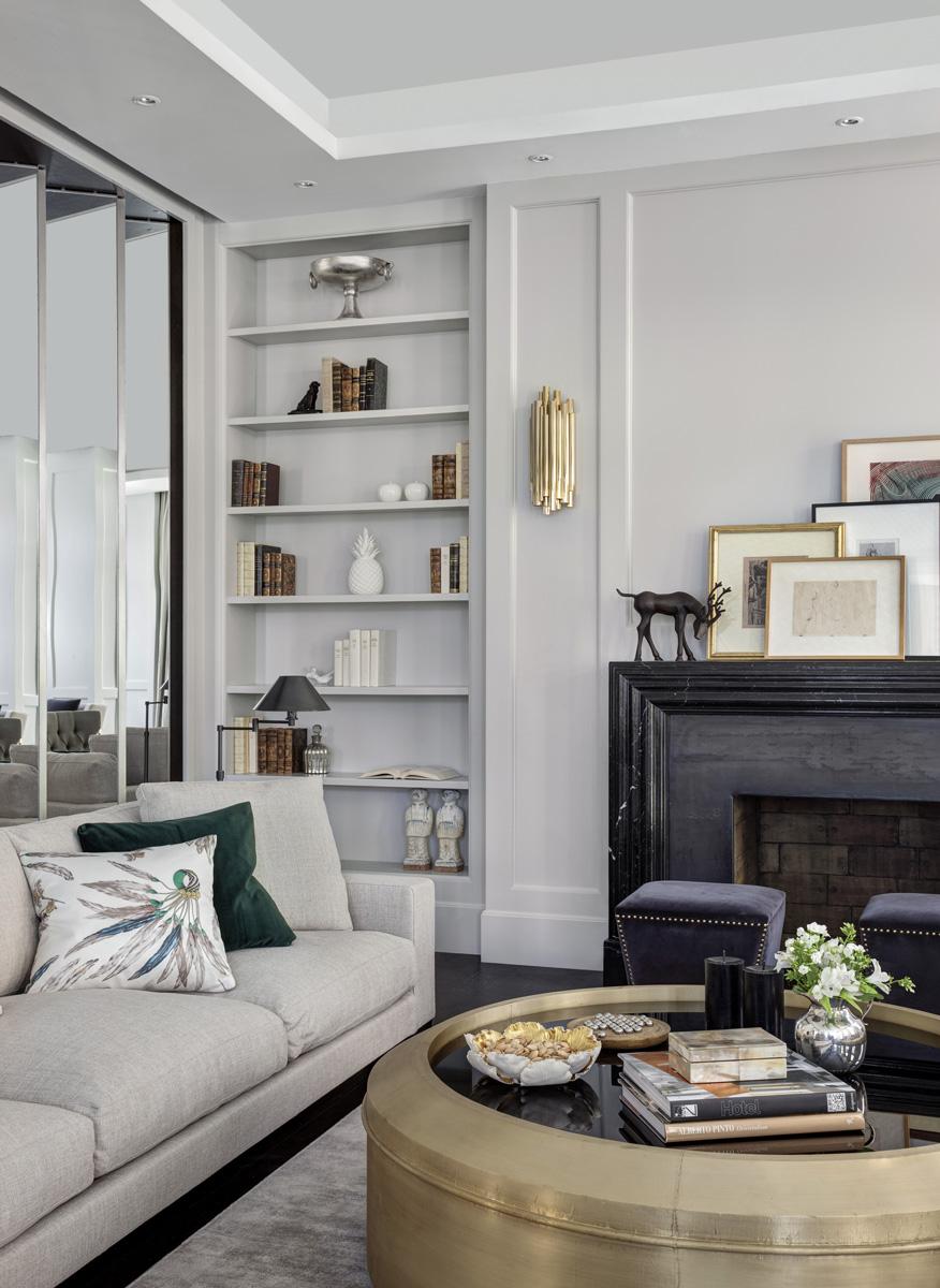 Luxury Living Room Room Of The Week Neutral Luxury Living Room In Dubai