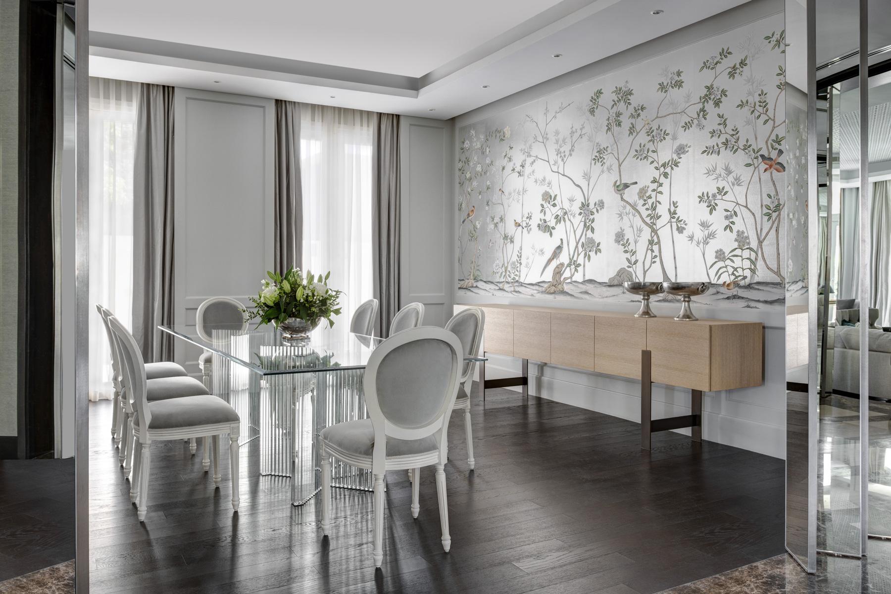 Room of the Week- Neutral Luxury Living Room in Dubai