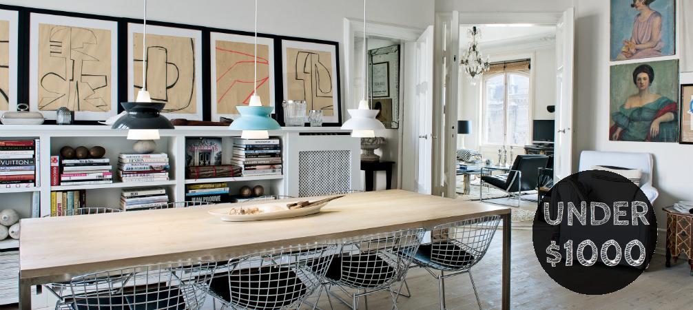 Unique Designs: 10 Mid-Century Modern Lamps Under $1000!