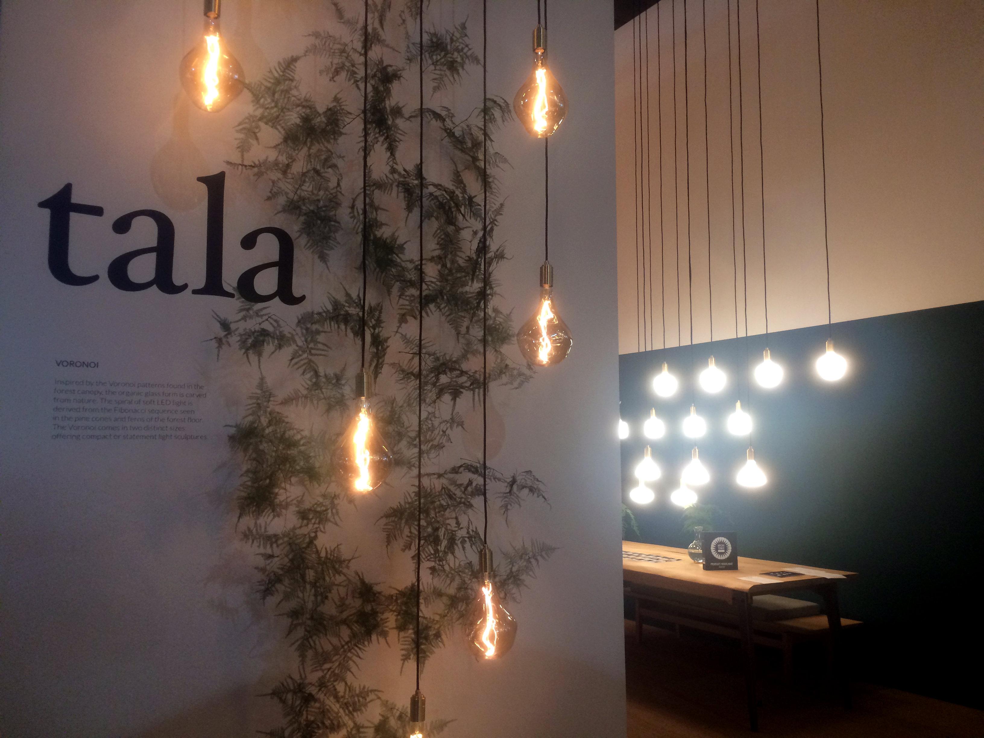 Unique lighting designs in hall 13 brighten up isaloni 2017