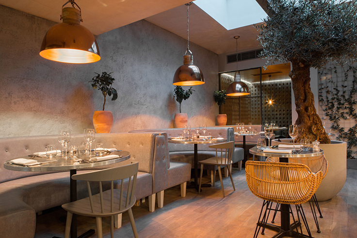 An intimate restaurant by kinnersley kent design unique blog