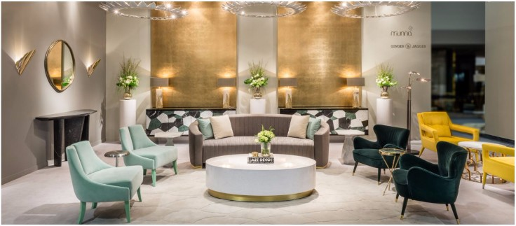 Luxury Everywhere The Best Furniture Stands at ICFF 2017