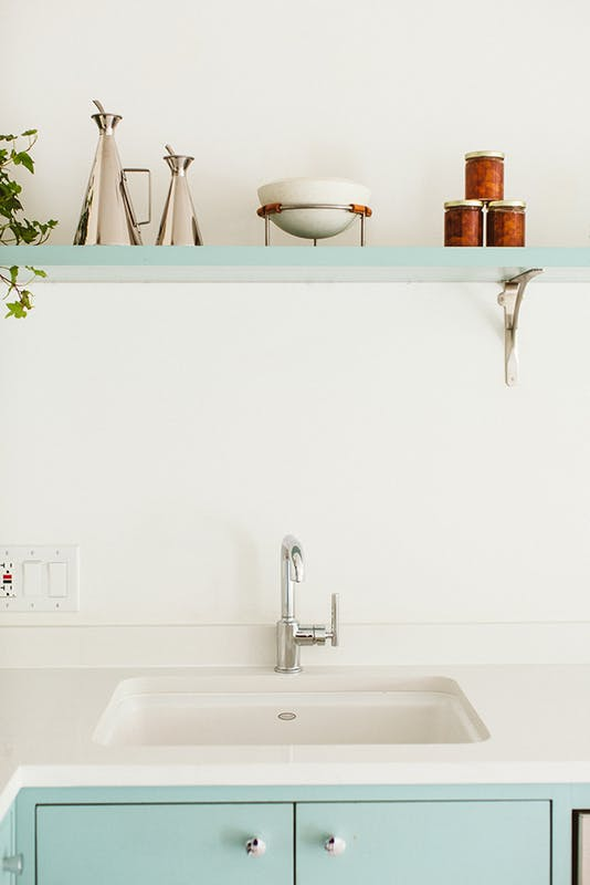 Room of the Week- Minimalist Kitchen with a Nordic Feeling