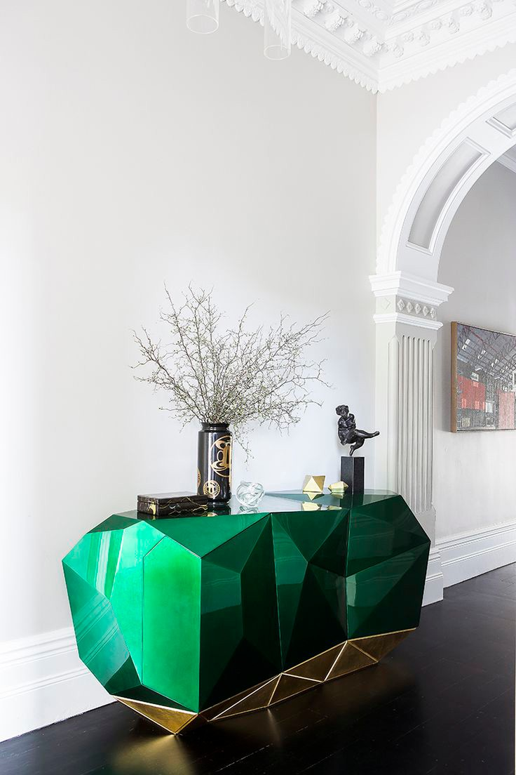 Mood Board: Color Up your Home Design with Green Medium