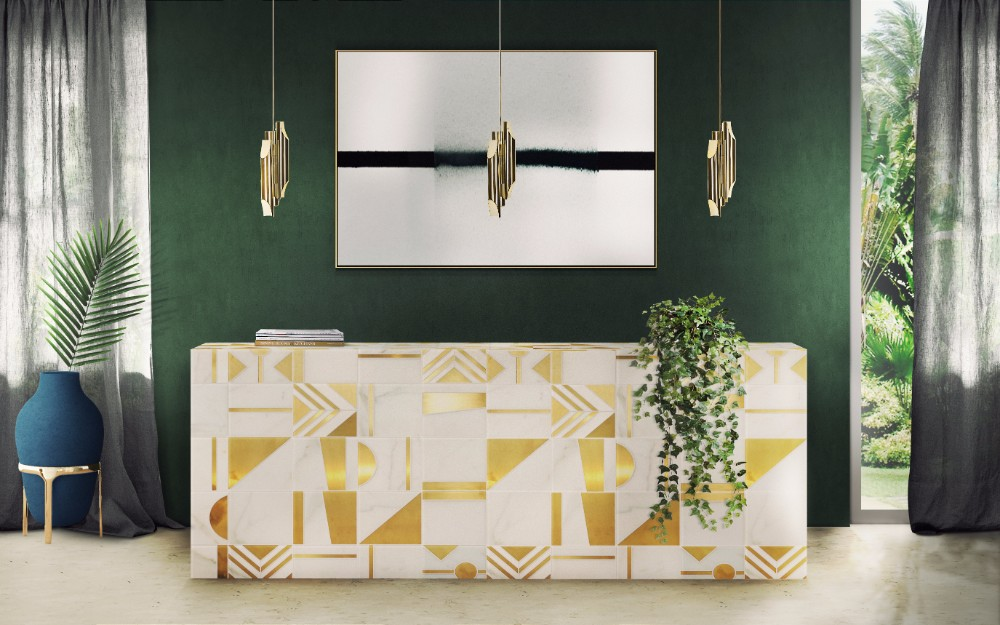 Mood Board Emerald Green For Stylish And Trendy Home Decor