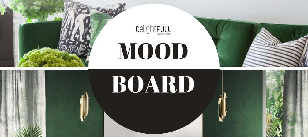Mood Board- Emerald Green for Stylish and Trendy Home Decor