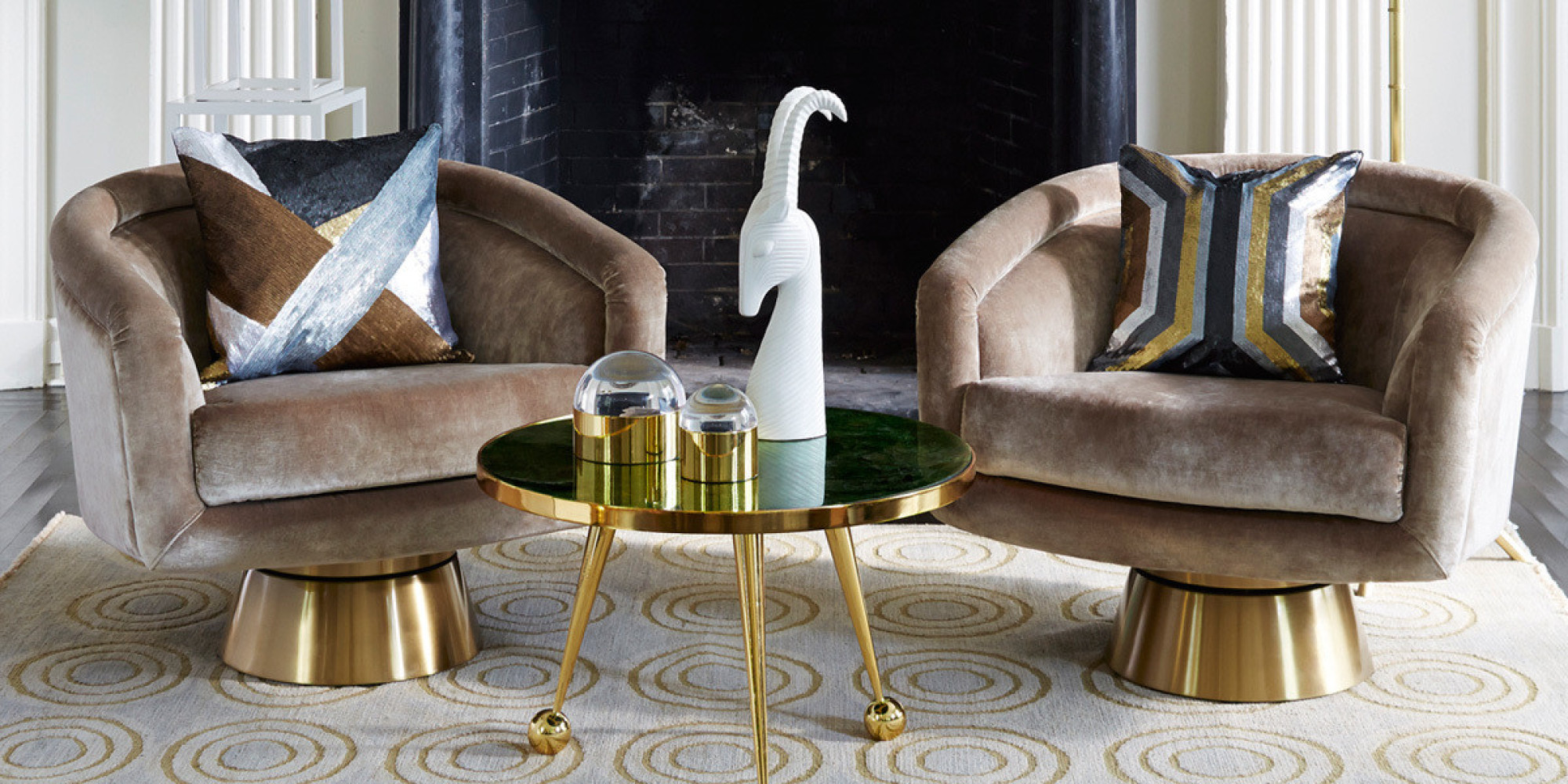 Mood Board Its Luxury Time With Goldfinch By Pantone