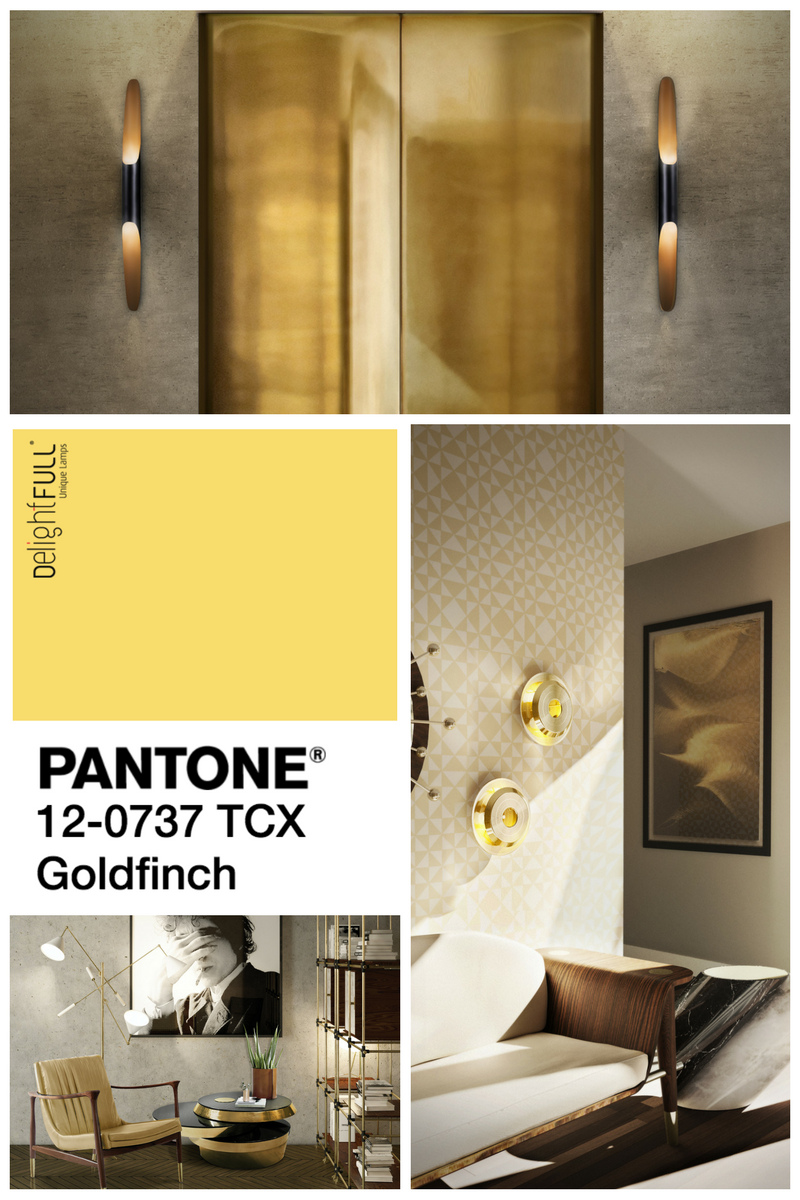 Mood Board: It\'s Luxury Time with Goldfinch by Pantone!