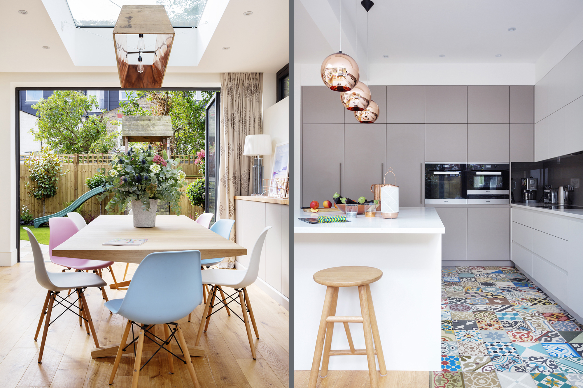 Room of the Week A Modern Kitchen with Vintage and Copper Details 1
