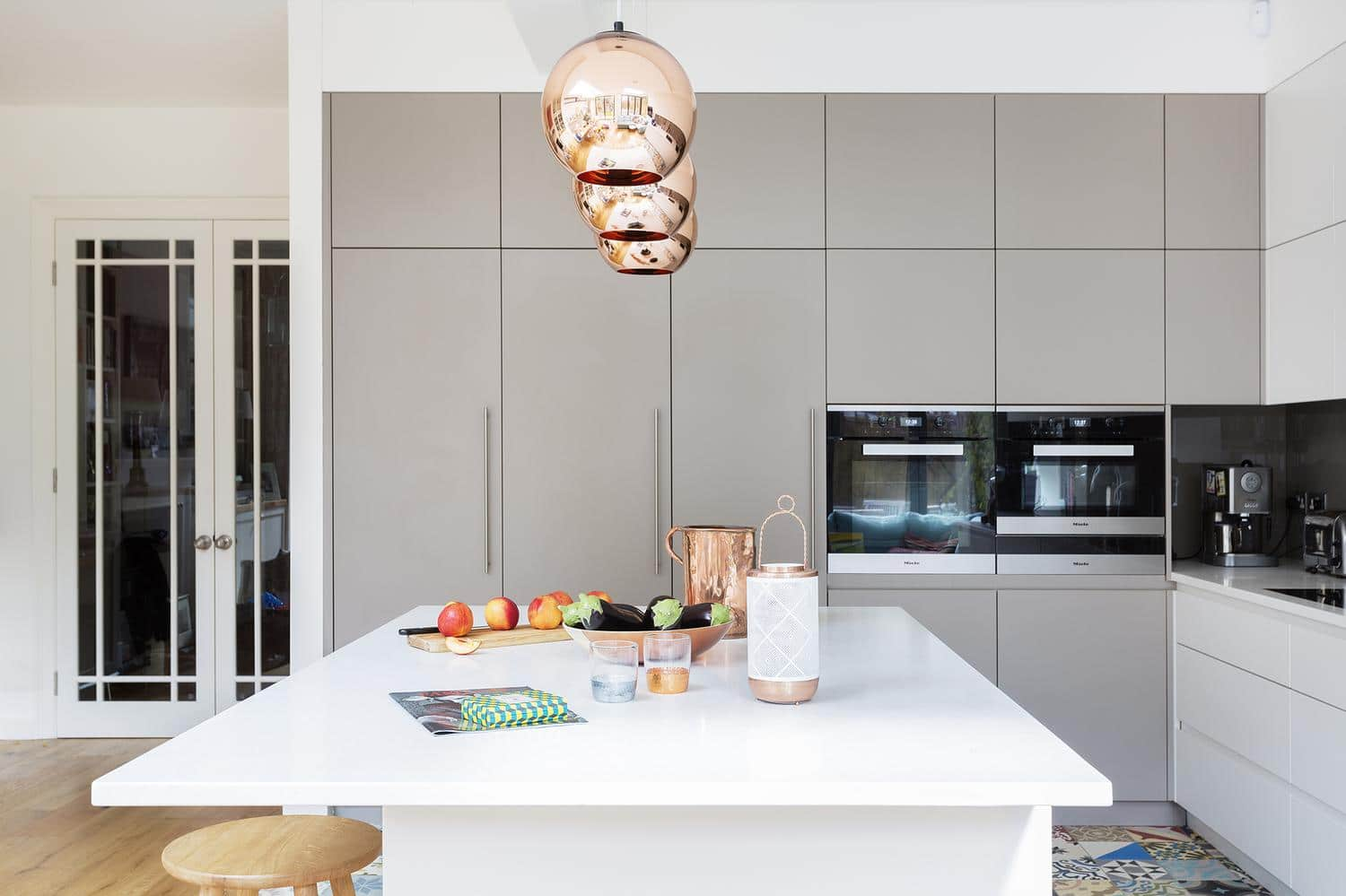 Room of the Week A Kitchen with Vintage and Copper Details 1