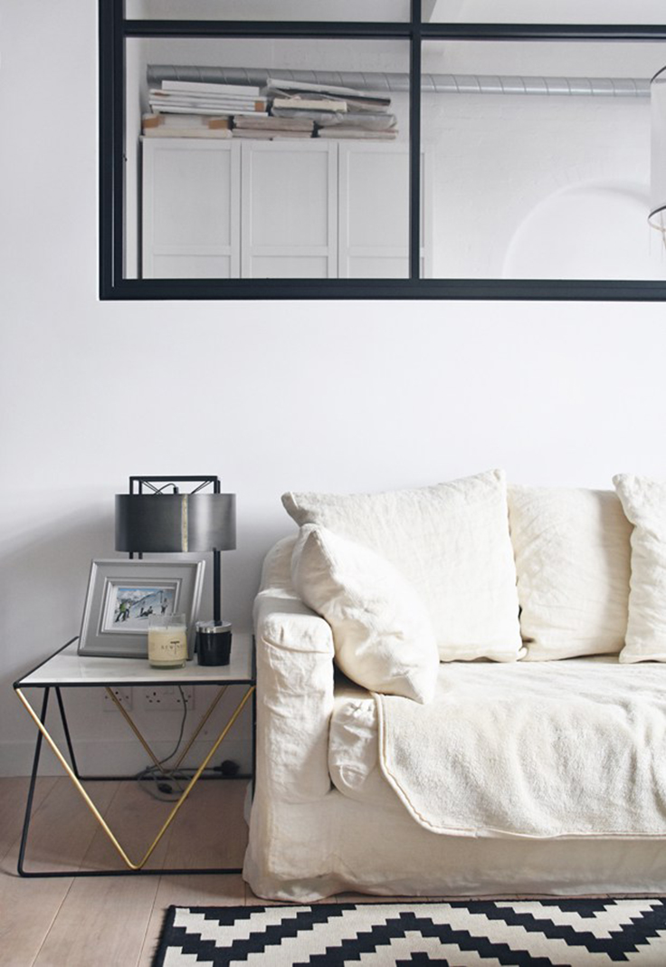 Take a look at these minimalist interior design project by Laura Lakin