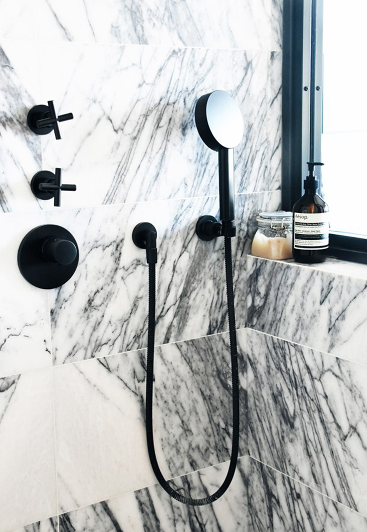 Take a look at this minimalist interior design project by Laura Lakin