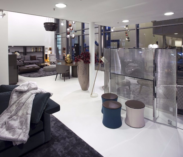 Meet the purpur interior concepts showroom and their projects for Interior design frankfurt