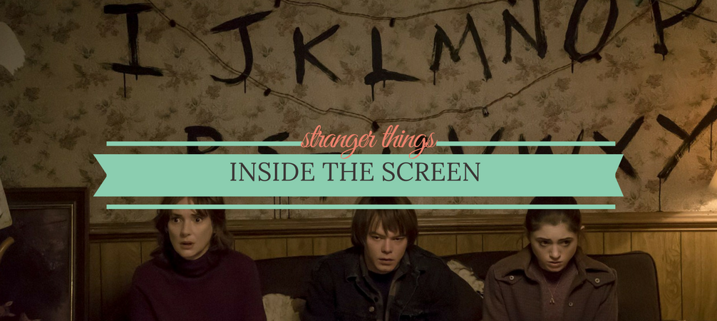 Inside the Screen- Fall in Love with Stranger Things Production Design
