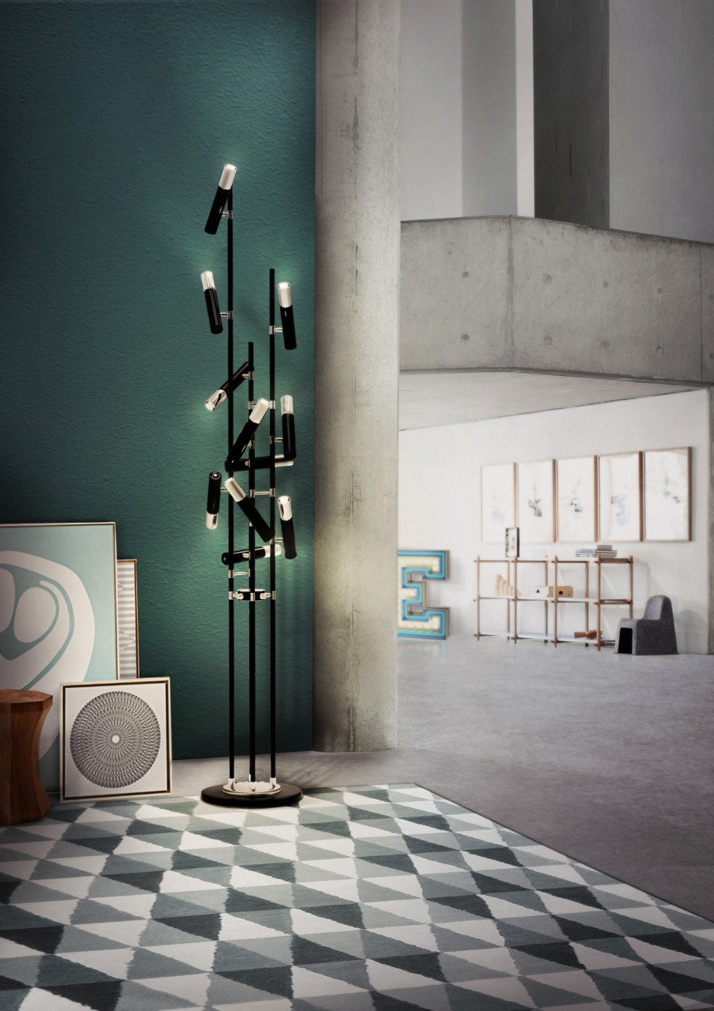 Interior Design Tips- How to Decorate Your Whole House with One Lamp