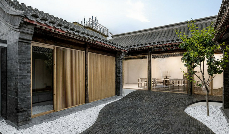 Twisting Courtyard is the Epitome of Chinese Architecture