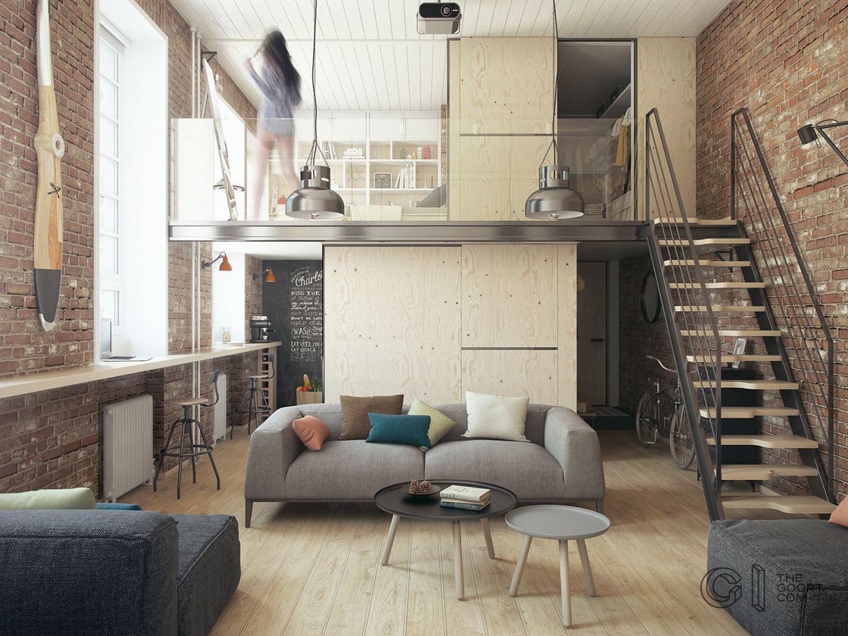 House Tour A Modern Home Decor with Exposed Brick Walls 1