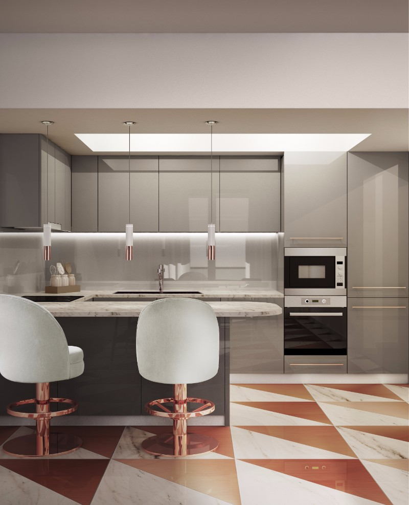 Pantone fall fashion report copper tan and how to bring it indoors - Applying the pretty copper accessories into your kitchen ...