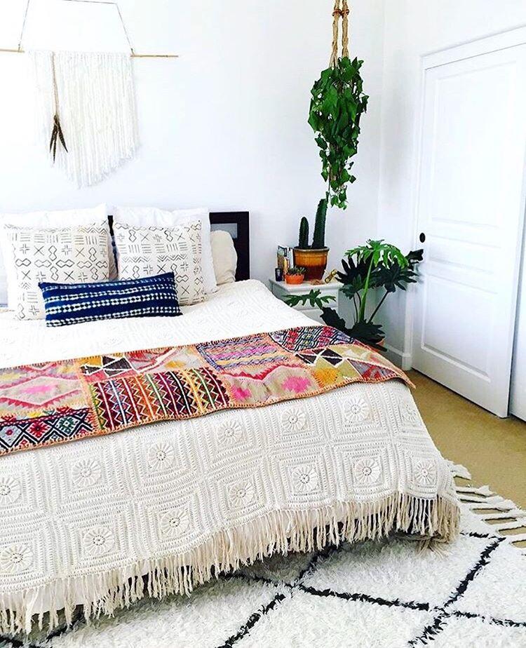 What's Hot on Pinterest 5 Bohemian Interior Design Ideas 1