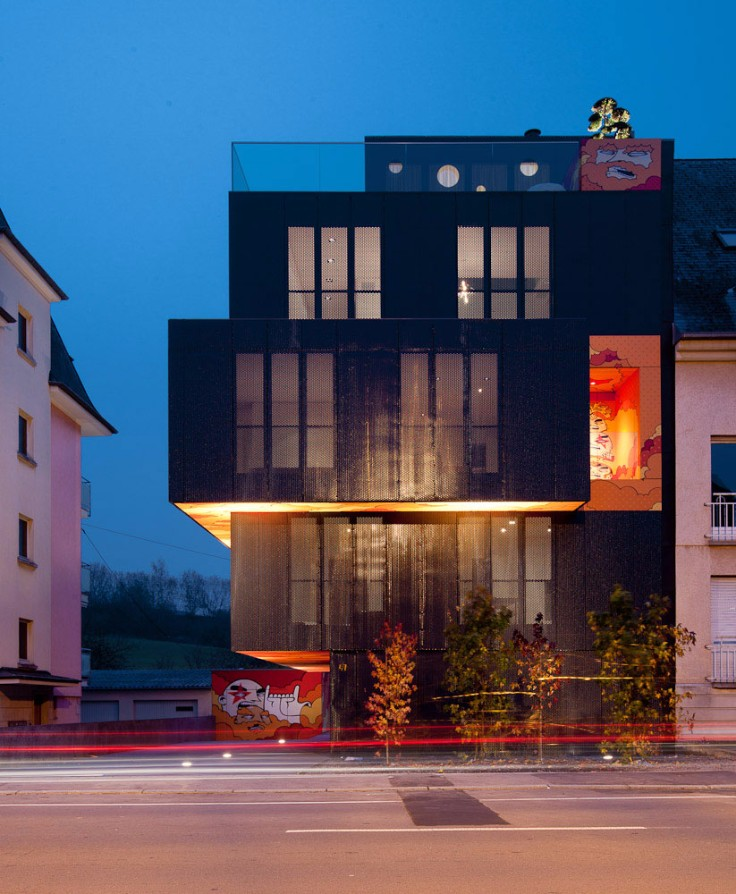 Modernity, originality and comfort all together in this Building in Luxembourg!