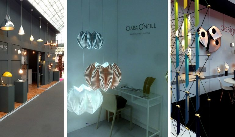 The Most Dazzling Lighting Design Stands at 100% Design September! FEAT