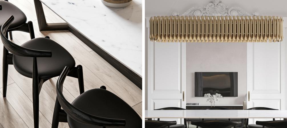 White Gold Classic Interior Design Project You Ll Love Unique Blog