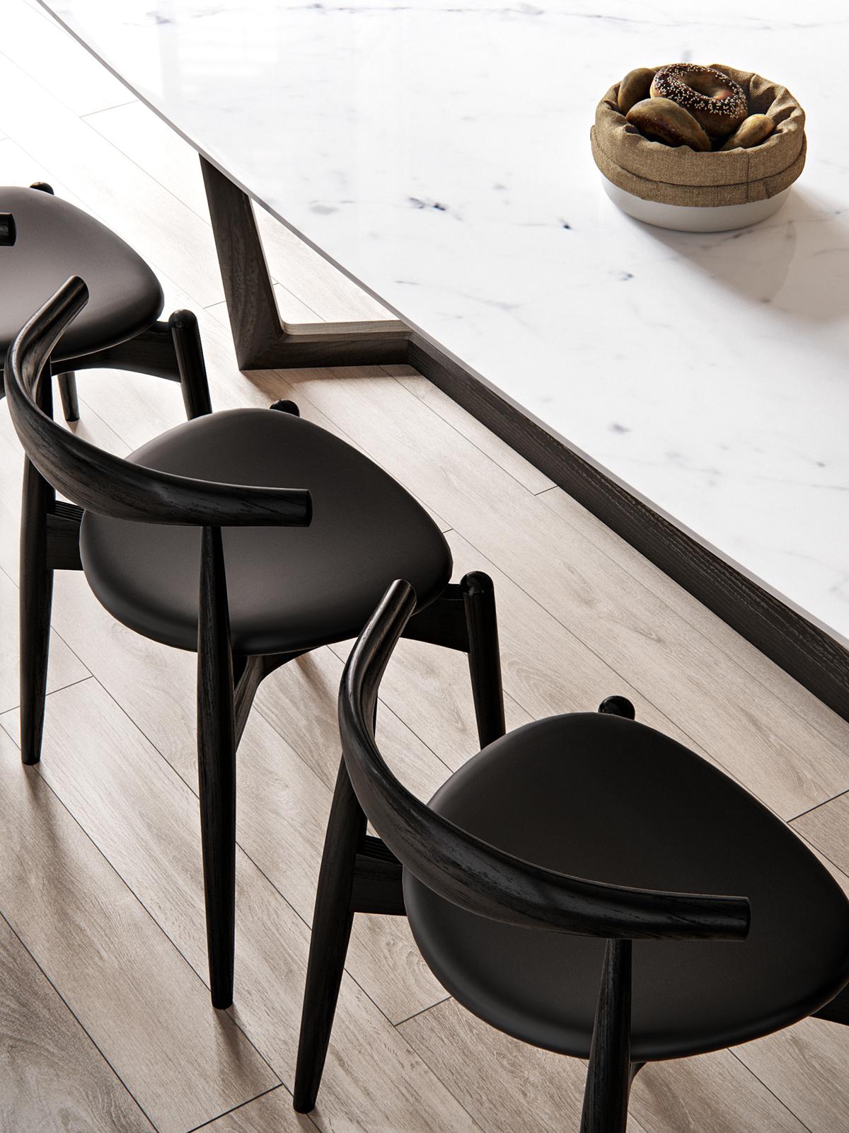 White, Gold & Classic Interior Design Project You'll Love