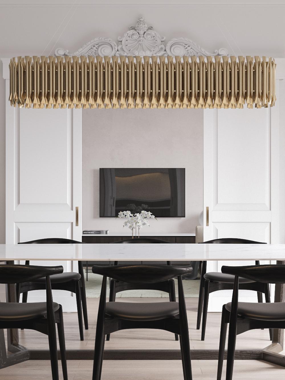 White Gold Amp Classic Interior Design Project You Ll Love