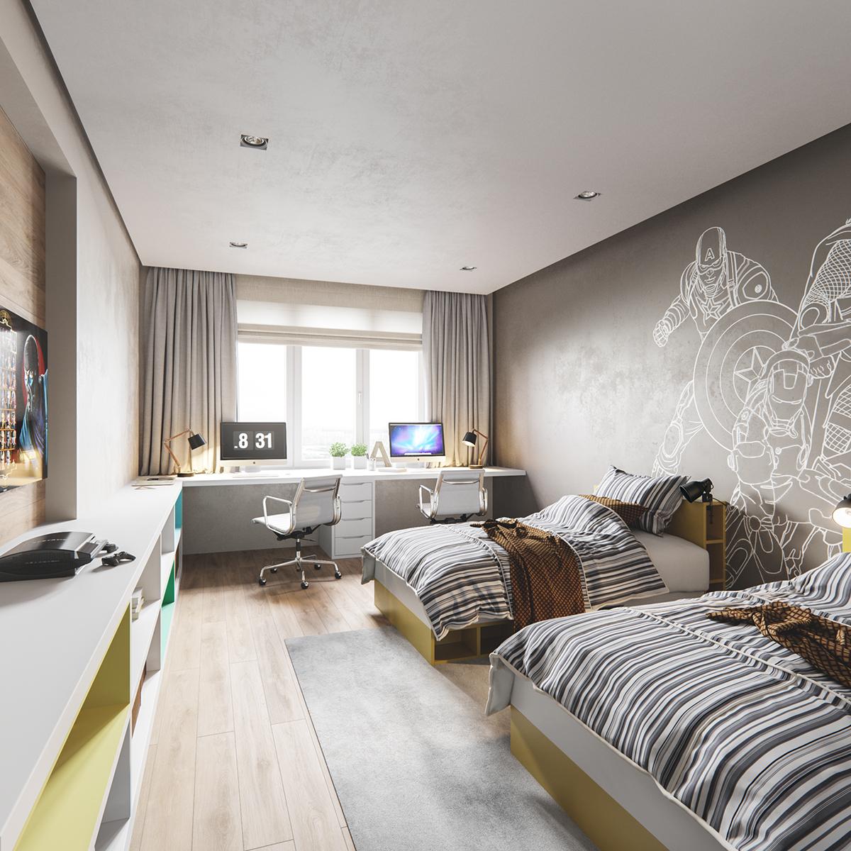 Gold White Interior Design: White, Gold & Classic Interior Design Project You'll Love