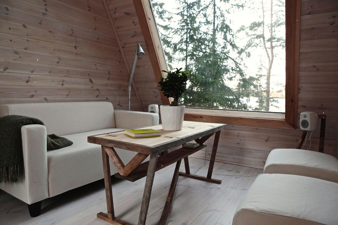 finish design, mökki, sisustus, nido, robin falck, Scandinavian design, country house design, natural interior, eco interior, eco design, a tiny house
