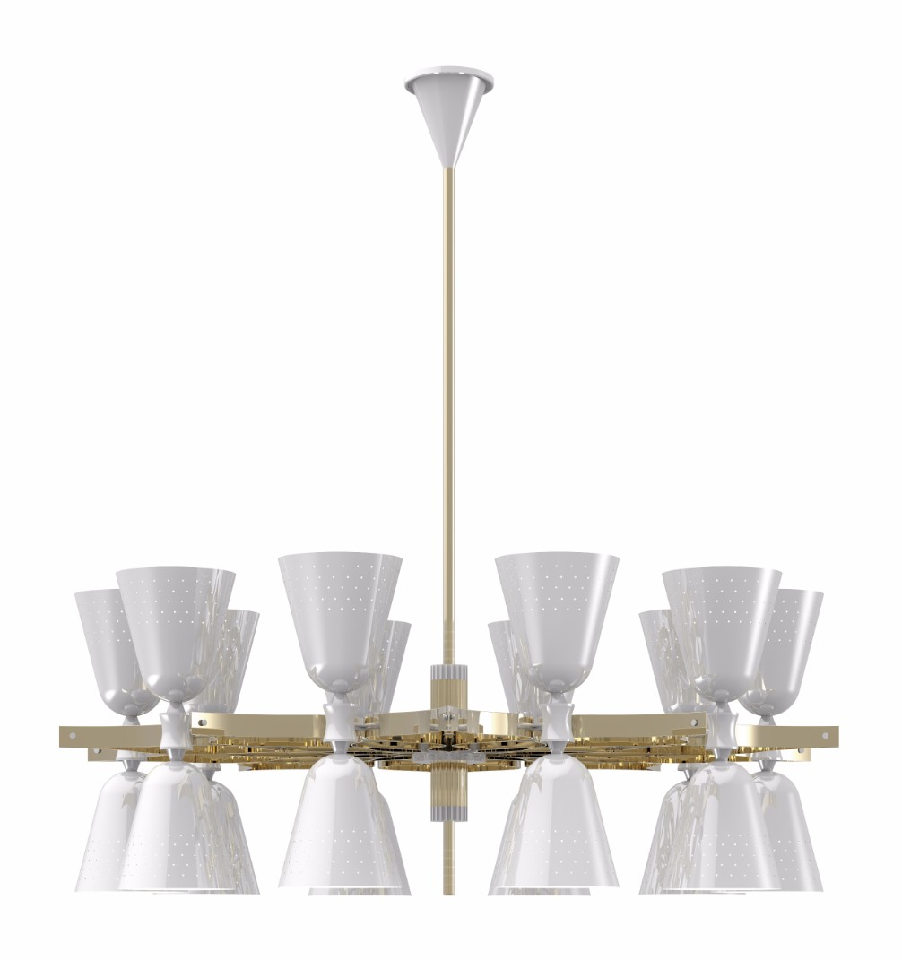 Here's The Perfect Modern Chandelier for Your Halloween Decorations 6