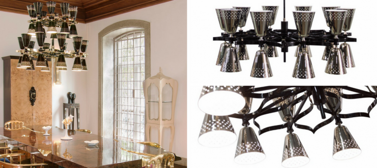 Here's The Perfect Modern Chandelier for Your Halloween Decorations FEAT